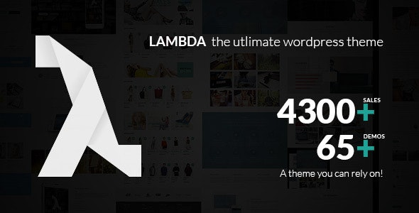 Lambda - Multi Purpose Responsive Bootstrap Theme - Business Corporate