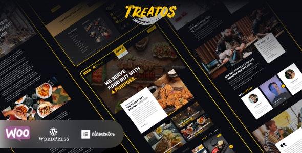 Treatos - Restaurant Theme - Restaurants & Cafes Entertainment