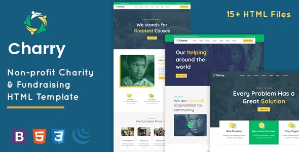 Download Charry - Charity & Fundraising HTML Template