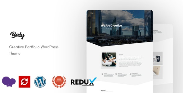 Berly - Portfolio WordPress Theme - Portfolio Creative