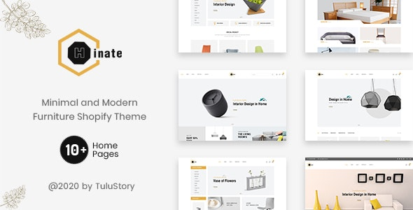 Hinate - Minimal and Modern Furniture Shopify Theme - Shopify eCommerce