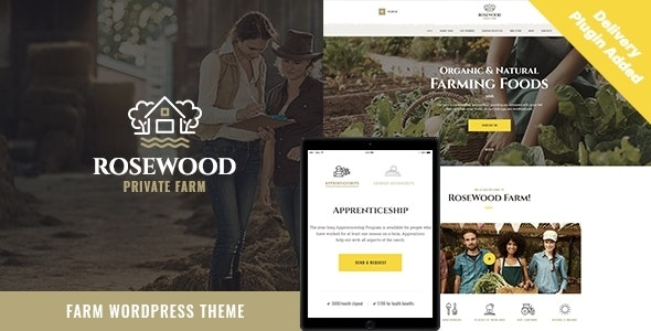 Rosewood | Eco Organic Farming Agricultural WordPress Theme - Food Retail