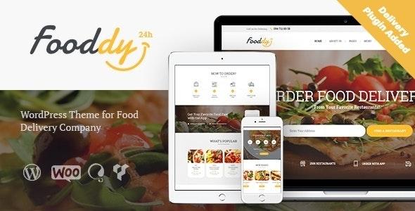 Fooddy 24/7 - Food Ordering & Delivery WordPress Theme + RTL - Food Retail