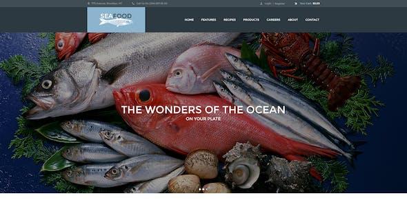 Seafood Company & Fish Restaurant WordPress Theme