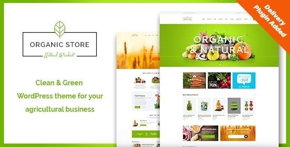 Organic Store | Eco Products Shop WordPress Theme + RTL - WooCommerce eCommerce