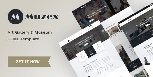 Download Muzex - Museum & Exhibition HTML Template