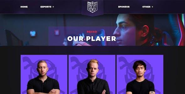 Esportize | eSports & Gaming Elementor Template Kit