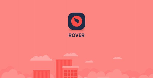 ROVER - Taxi UI Kit for Adobe XD
