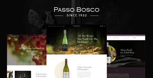 Passo Bosco - Prestashop Wine Store Prestashop Theme