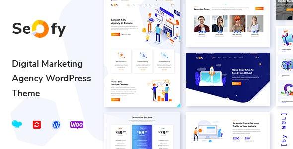 Seofy - Digital & Marketing WordPress Theme - Marketing Corporate