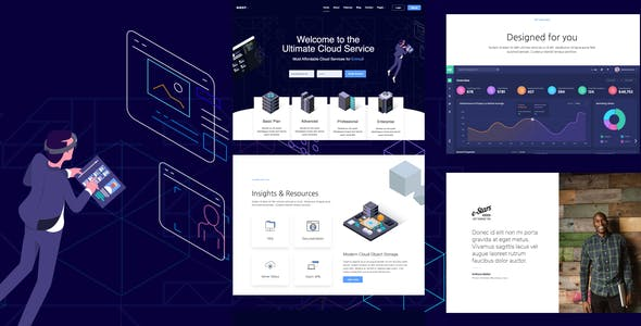 Hostplus - Hosting Services Template Kit