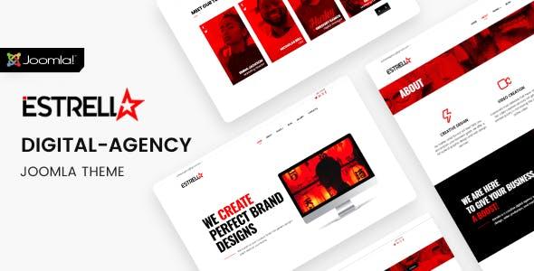 Download Estrella - Creative Agency Joomla Theme