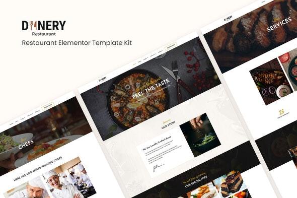 Dinery | Restaurant Elementor Template Kit - Food & Drink Elementor