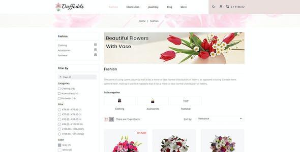 Daffodils - Flowers Store Prestashop 1.7 Responsive Theme