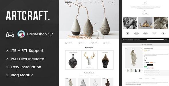 ArtCraft - Multipurpose Prestashop 1.7 Responsive Theme - Miscellaneous PrestaShop