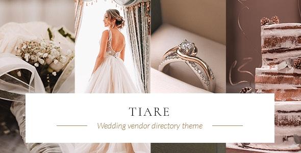 Tiare - Wedding Vendor Directory Theme - Directory & Listings Corporate