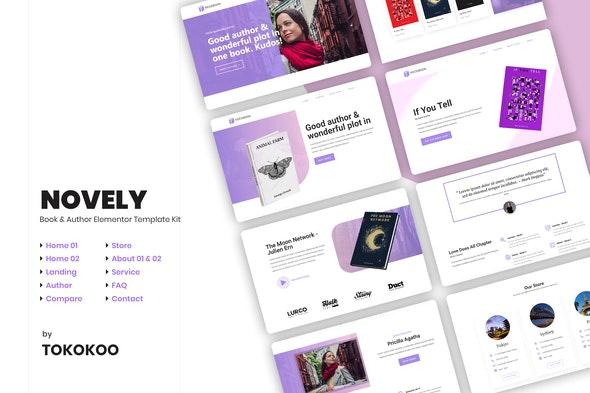 Novely | Book Elementor Template Kit - Shopping & eCommerce Elementor