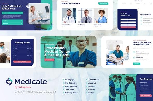 Medicale | Medical & Health Elementor Template Kit - Health & Medical Elementor