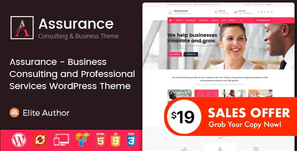 Assurance - Business Consulting and Professional Services WordPress Theme - Business Corporate