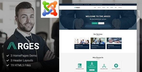 Arges - Corporate & Business Joomla Template - Business Corporate