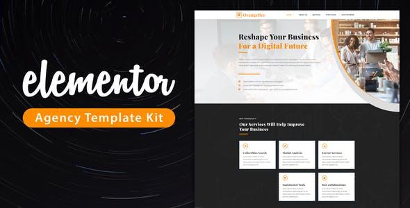 OrangeBee - Agency Template Kit