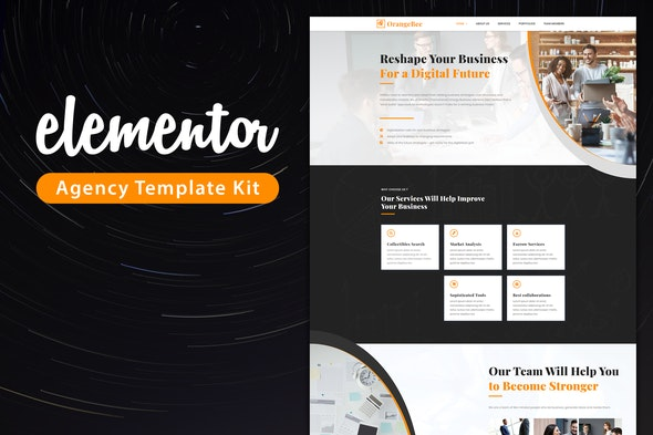 OrangeBee - Agency Template Kit - Template Kits