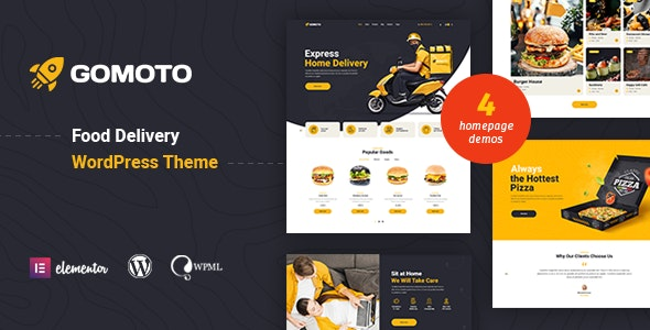 Gomoto Food Delivery Medical Supplies Wordpress Theme By Like Themes