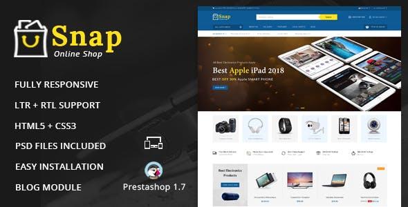 Snap - Electronics Prestashop 1.7 Responsive Theme