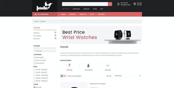 KODA Electronics Store - Prestashop 1.7 Responsive Theme