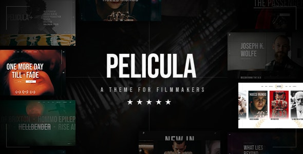 Pelicula Theme Preview