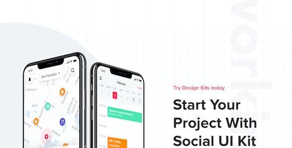 JAZAM - Social UI Kit for Figma