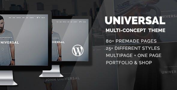 Universal - Smart Multi-Purpose WordPress Theme by ForBetterWeb