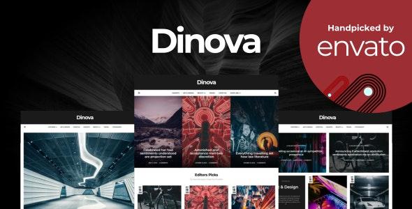 Dinova - Alternative Magazine Gutenberg Theme - Blog / Magazine WordPress