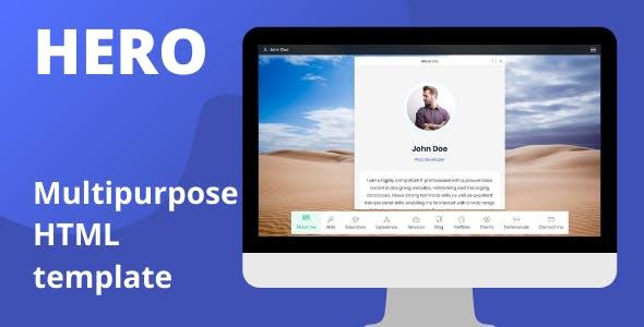 Download Hero - Multipurpose HTML template