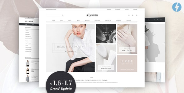 Alysum - Premium Prestashop AMP Theme - Shopping PrestaShop