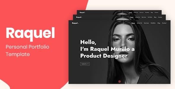 Download Raquel – Bootstrap 4 Personal Portfolio