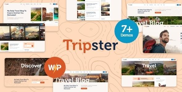 Tripster - Travel & Lifestyle WordPress Blog - Personal Blog / Magazine
