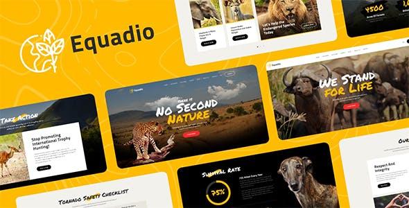Download Equadio - Non-Profit and Environmental WordPress Theme