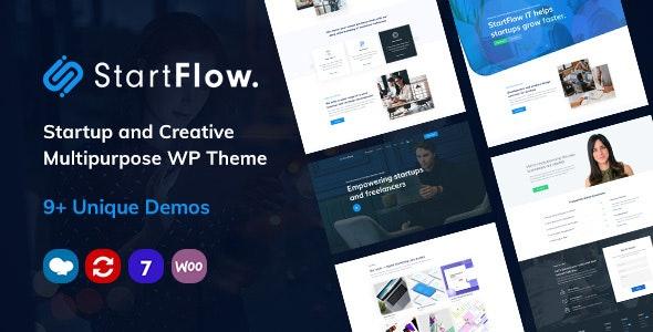 StartFlow | Responsive Multipurpose WordPress Theme - Corporate WordPress