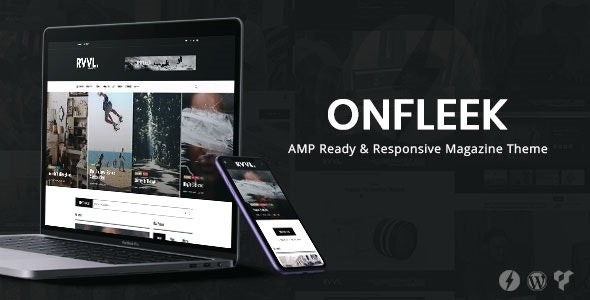 Onfleek - AMP Ready and Responsive Magazine Theme - News / Editorial Blog / Magazine