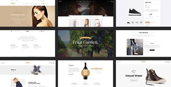 Scara - Multipurpose Virtuemart Template for Online Store - VirtueMart Joomla