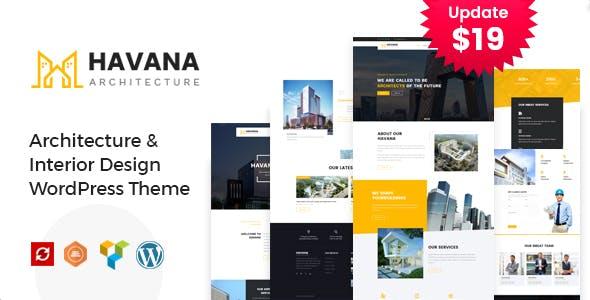 Havana - Architecture, Interior and Design WordPress Theme