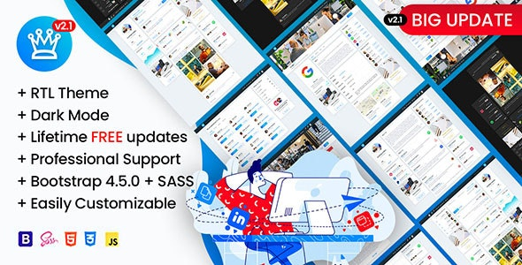 Osahanin - Job Portal & Social Network HTML Template - Corporate Site Templates