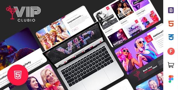 Clubio - Night Club HTML Template - Nightlife Entertainment