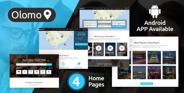 Olomo – Listings & Directory WordPress Theme - Directory & Listings Corporate