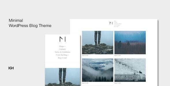 Miniblog - Multipurpose, Minimal WordPress Theme - Personal Blog / Magazine