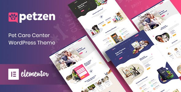 Download Petzen - Pet Care Center WordPress Theme