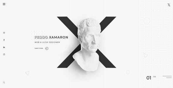 XAMARON - Creative Agency and Portfolio Bootstrap Template
