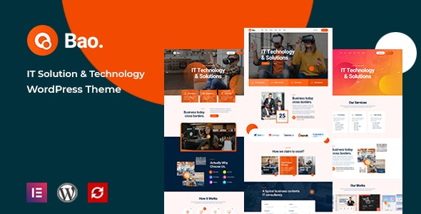 Bao - IT Solutions & Services WordPress Theme - Business Corporate