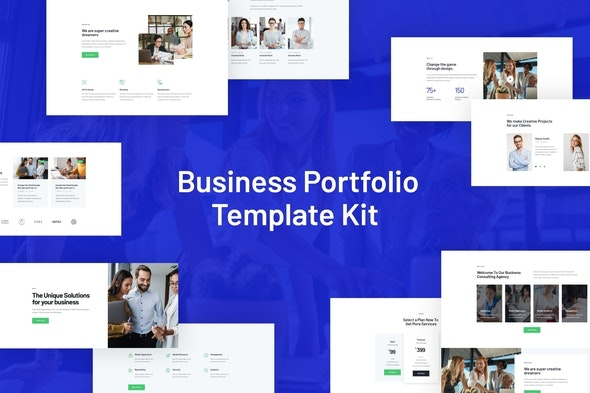Rhodos - Business Portfolio Elementor Blocks & Template Kit - Business & Services Elementor